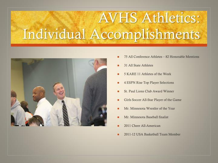 AVHS Athletics: