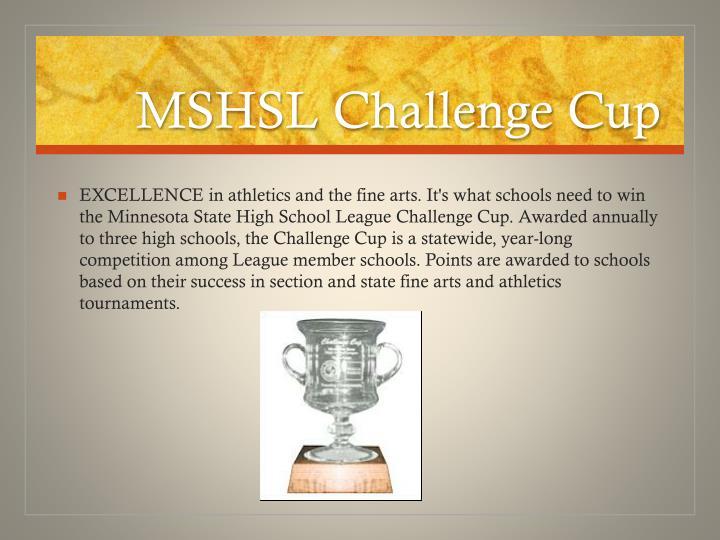 MSHSL Challenge Cup