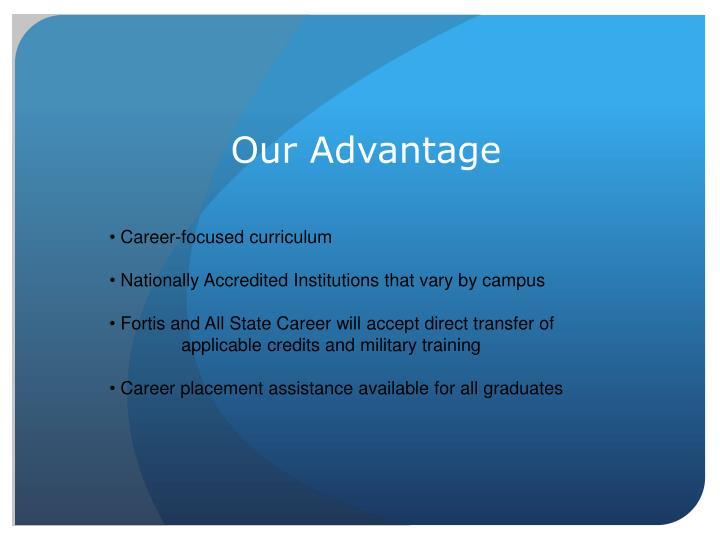 Our Advantage