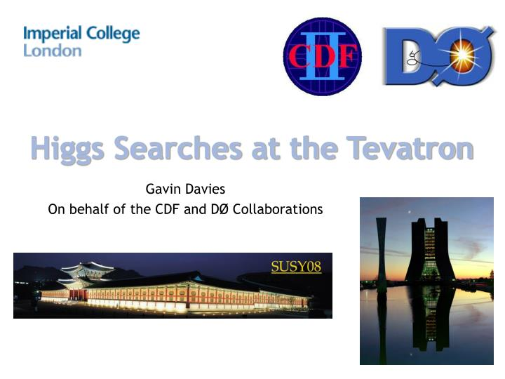 higgs searches at the tevatron n.