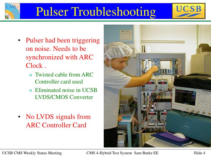 Pulser Troubleshooting
