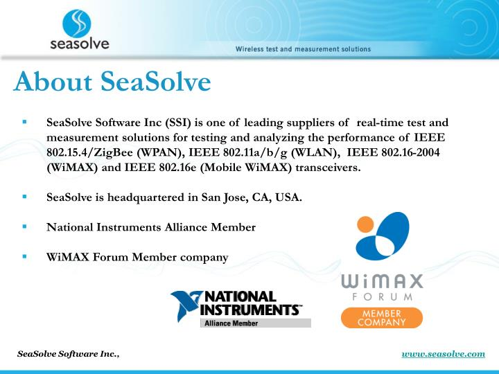 About SeaSolve