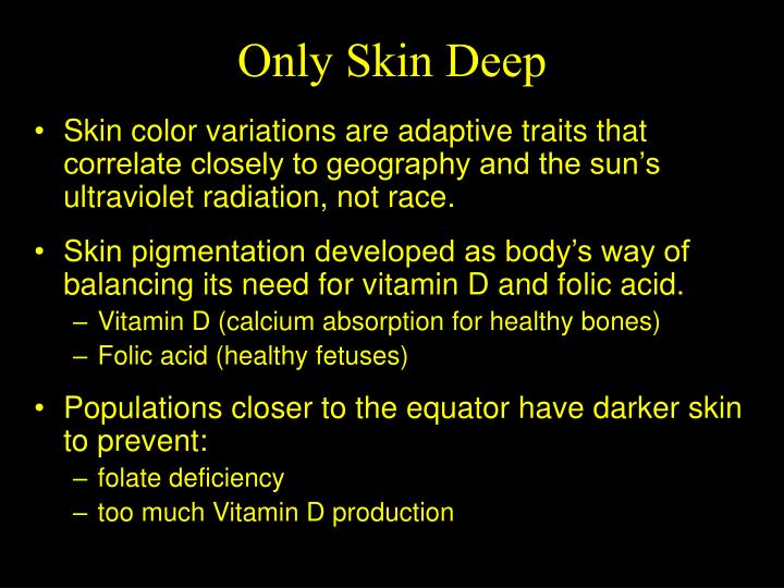 Only Skin Deep