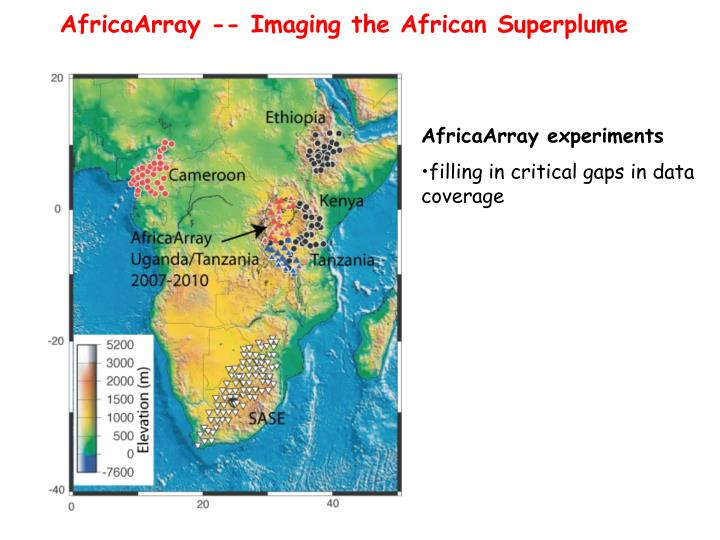AfricaArray -- Imaging the African Superplume