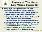 legacy of the lions low vision center 2
