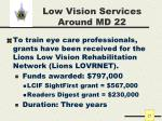 low vision services around md 22