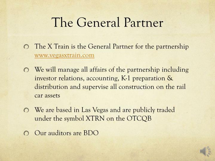 The General Partner