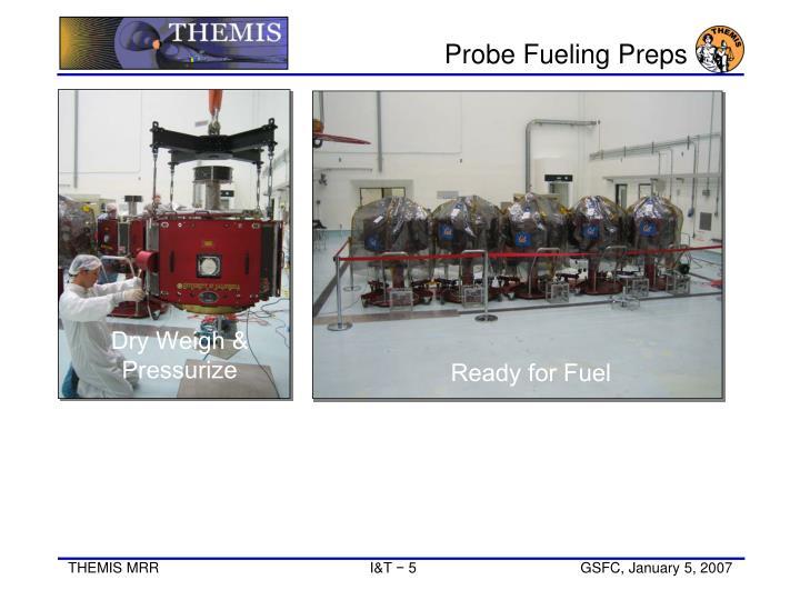 Probe Fueling Preps