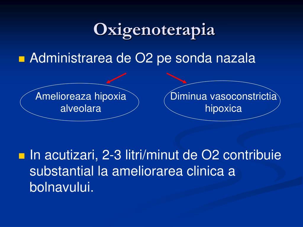 Oxigenoterapia in micozele pulmonare