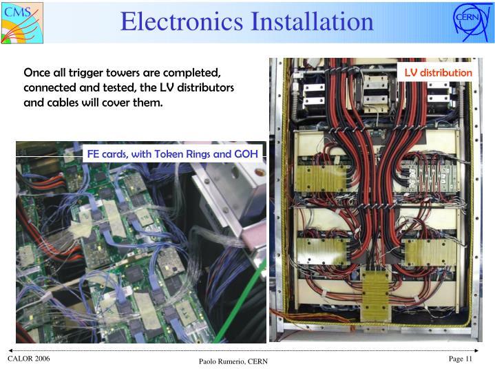 Electronics Installation