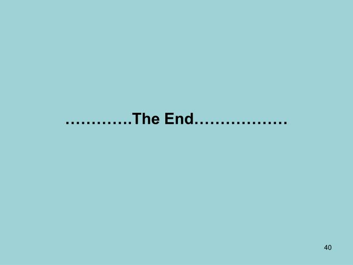 ………….The End………………