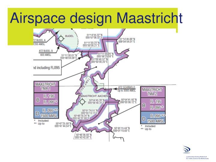 Airspace design Maastricht