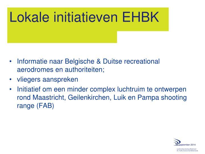 Lokale initiatieven EHBK