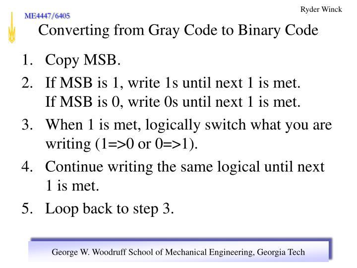 Copy MSB.