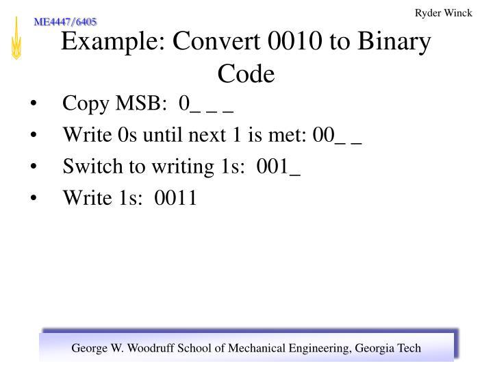 Copy MSB:  0_ _ _