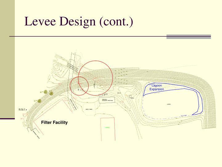 Levee Design (cont.)