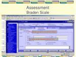 assessment braden scale