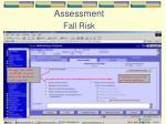 assessment fall risk