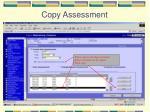 copy assessment