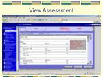 view assessment