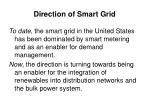 direction of smart grid