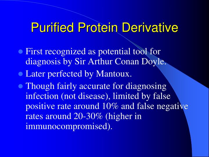 Purified Protein Derivative