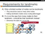 requirements for landmarks