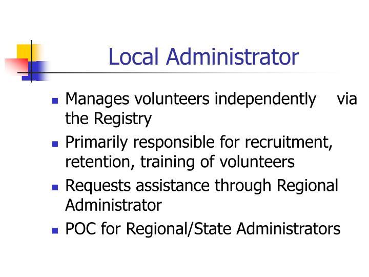 Local Administrator
