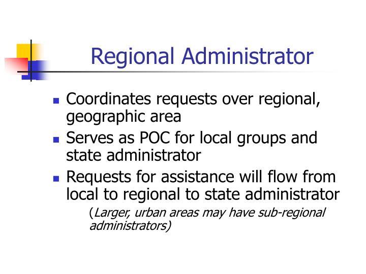 Regional Administrator