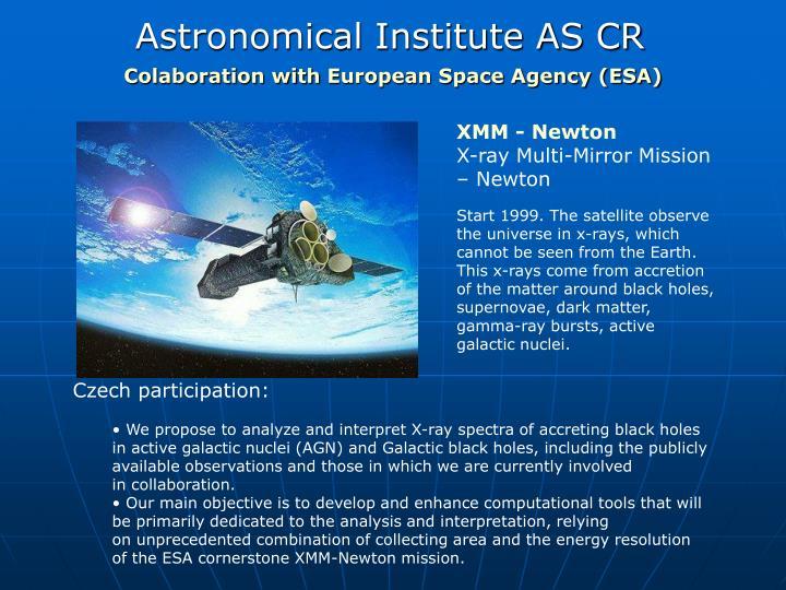 Astronomical institute as cr1