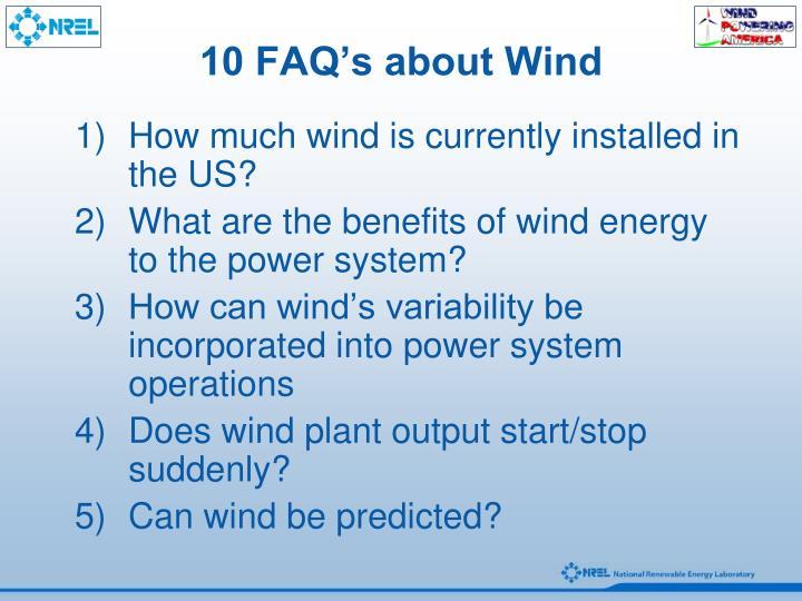 10 faq s about wind