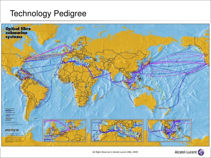 Technology pedigree