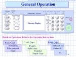 general operation