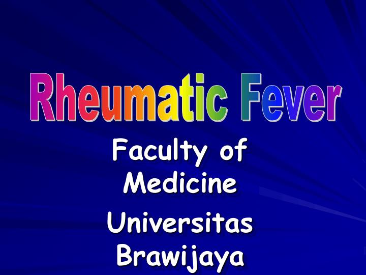 Faculty of medicine universitas brawijaya