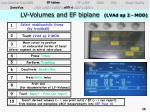 lv volumes and ef biplane lvad ap 2 mod1