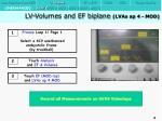 lv volumes and ef biplane lvas ap 4 mod