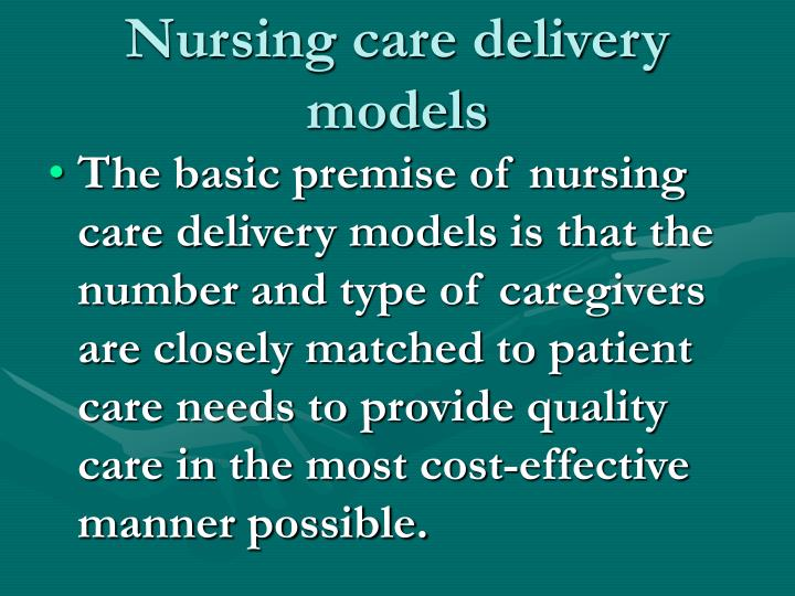 nrs 440v evolving practice of nursing and patient care delivery models A+ grade solution nrs-440v week 2 evolving practice of nursing and patient care delivery models the rn to bsn program at meets the requirements for.