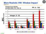 more realistic hw window impact figure 3 2