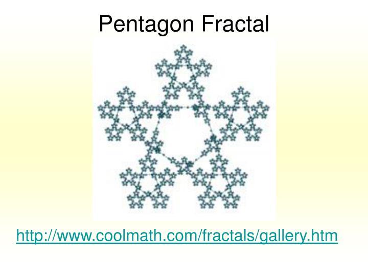 Pentagon Fractal