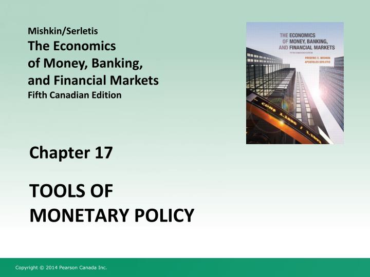 tools of monetary policy n.