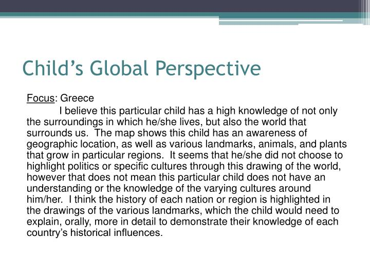 Child's Global Perspective