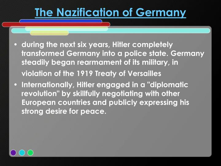 The Nazification of Germany