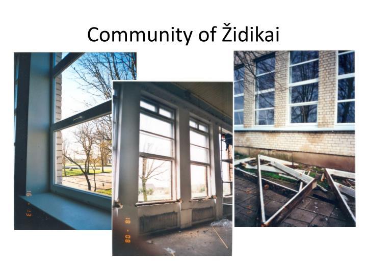 Community of