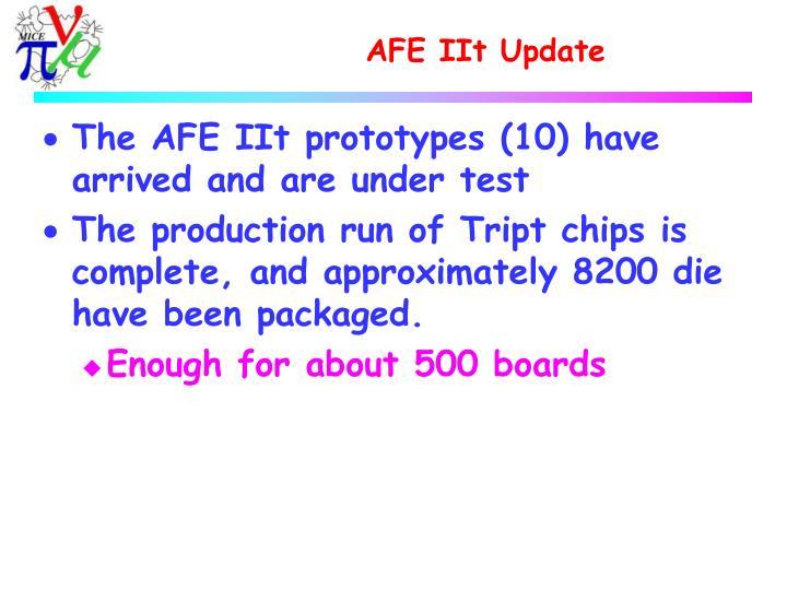 AFE IIt Update