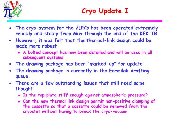 Cryo update i