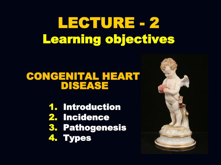 Lecture 2 learning objectives