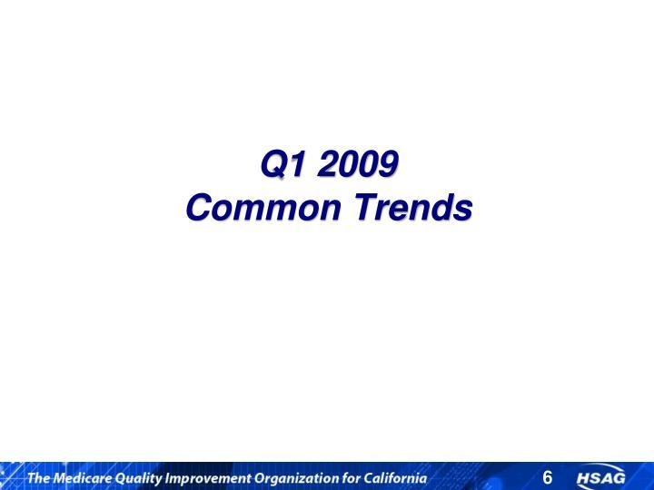 Q1 2009