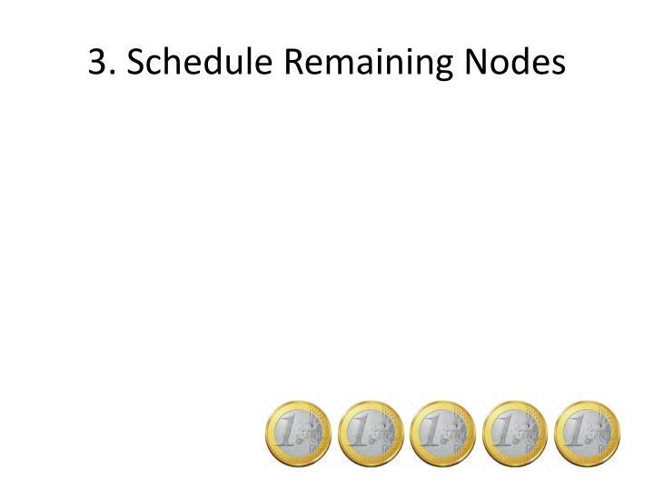 3. Schedule Remaining Nodes