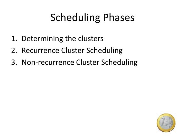 Scheduling Phases