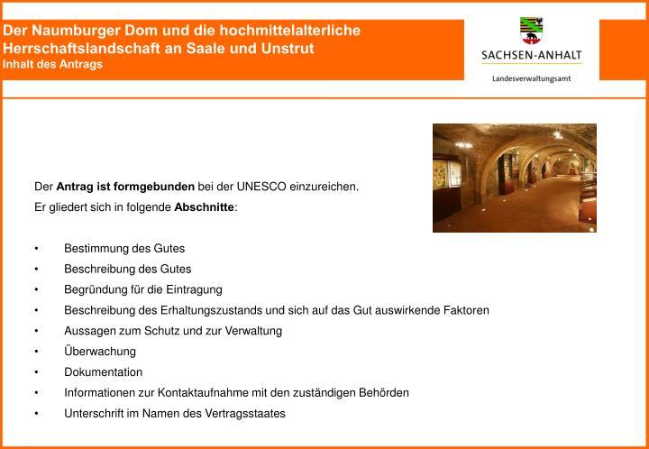 Der Naumburger Dom und die hochmittelalterliche Herrschaftslandschaft an Saale und Unstrut